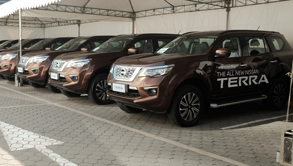 Nissan's test drive event
