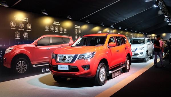 Nissan Terra 2018 on display