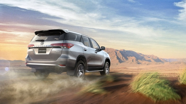 toyota fortuner 2018 philippines on the road