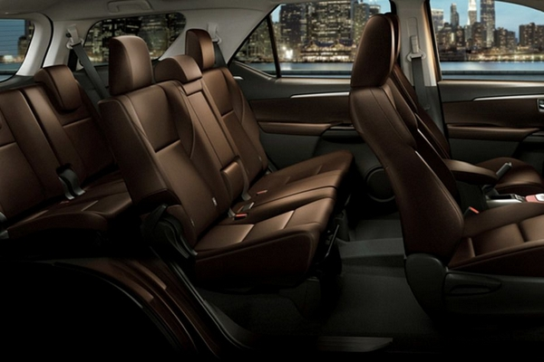toyota fortuner 2018 philippines seatings