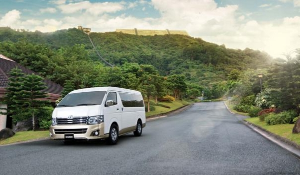 toyota hiace 2018 philippines on the road