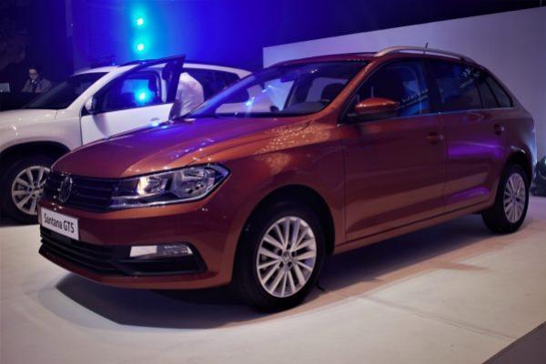 Volkswagen Santana 2018 angular front