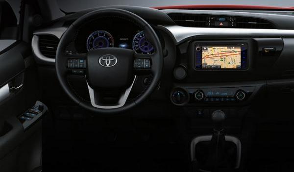 2018 Toyota Hilux interior philippines