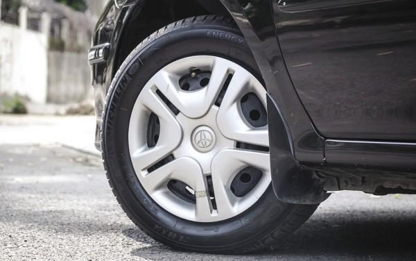 a car's wheel
