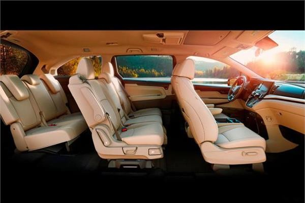 Honda Odyssey seats