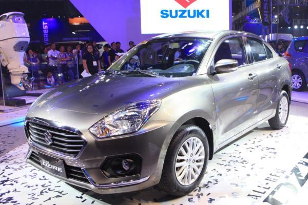 Suzuki Dzire 2018 angular front