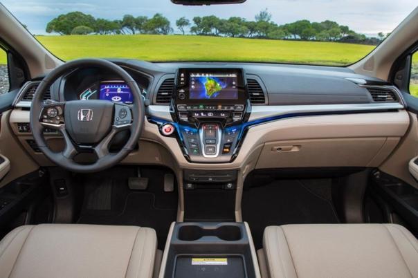 Honda Odyssey 2018 dashboard area