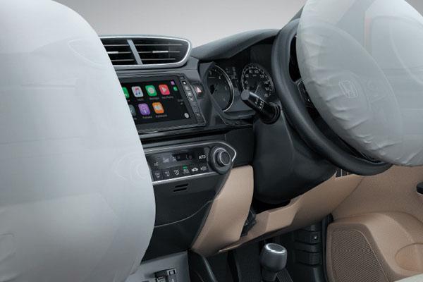 Honda Amaze 2018 airbag