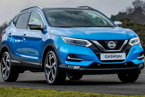 Nissan Qashqai 2018  angular front