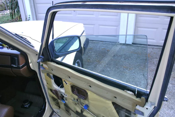 faulty power window