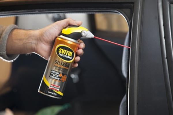 lubricate windows properly