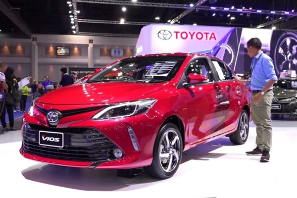 Toyota Vios 2018 angular front