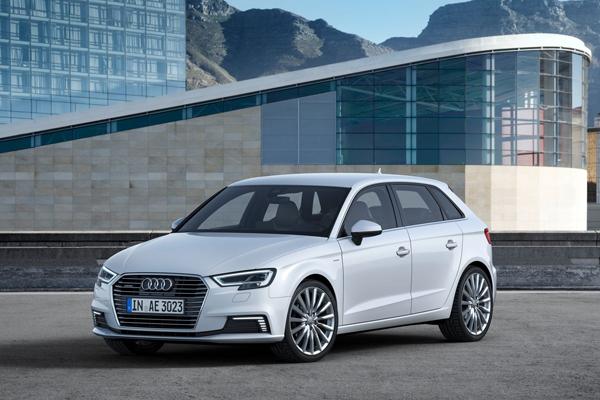 Audi A3 Sportback e-Tron 2018 angular front