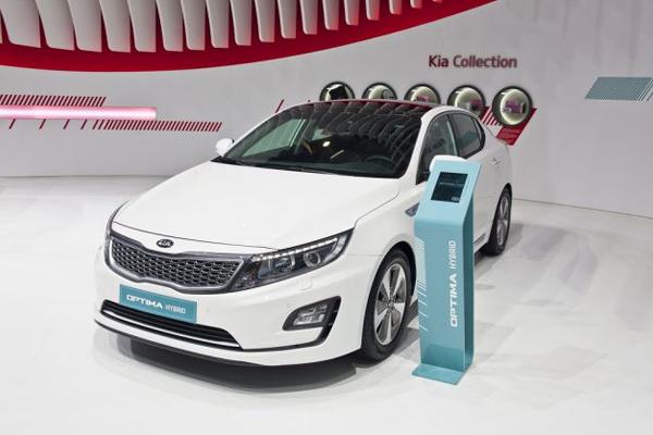 Kia Optima Plug-In Hybrid 2018 angular front