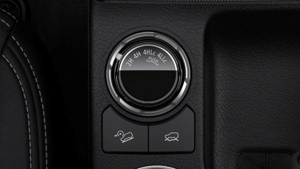 Mitsubishi Strada 2019 4WD system