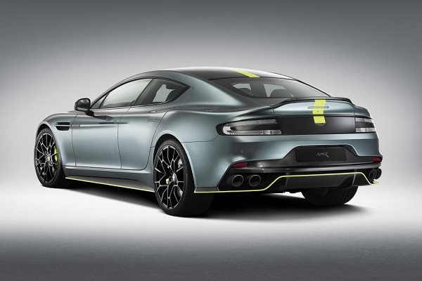 Aston Martin Rapide AMR 2018 rear view