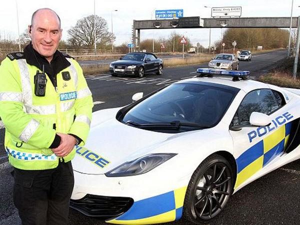 McLaren police car