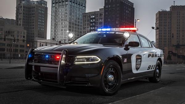 Dodge charger pursuit patrol car