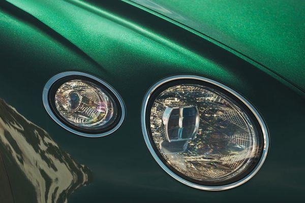 Bentley Continental GT headlight