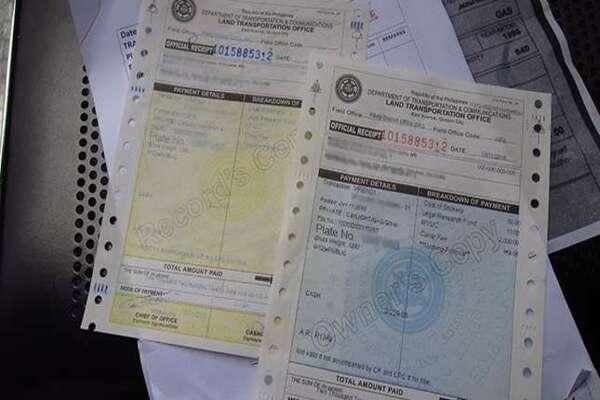 Original Copy of the Certificate of Registration (CR)