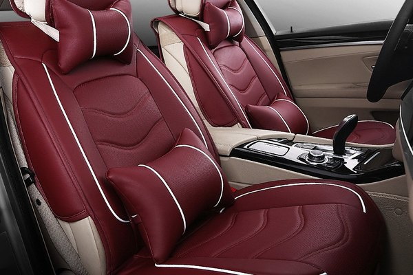 Customized leather seat