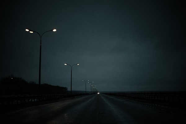 Street lighting can be lacking on open highways and rural roads.