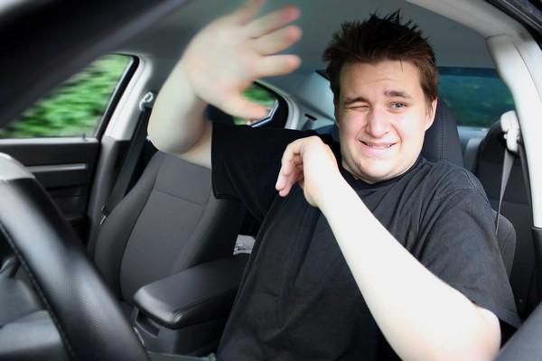 not wearing seatbelt
