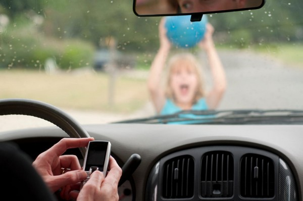 distracted driving act near schools