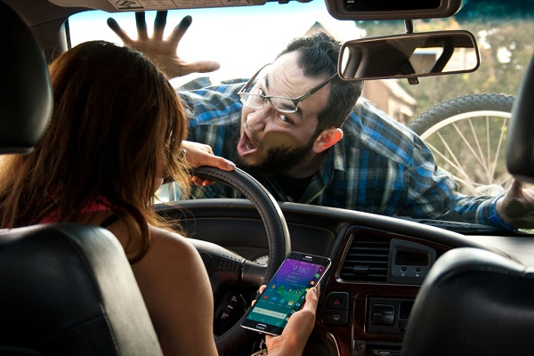accident due to distracted driving act