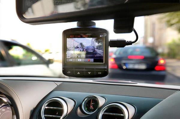 properly installed dashcam for safe driving