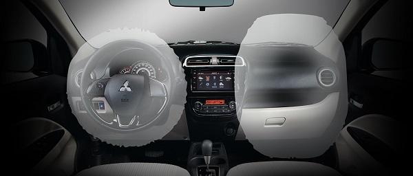 mitsubishi mirage g4 airbags