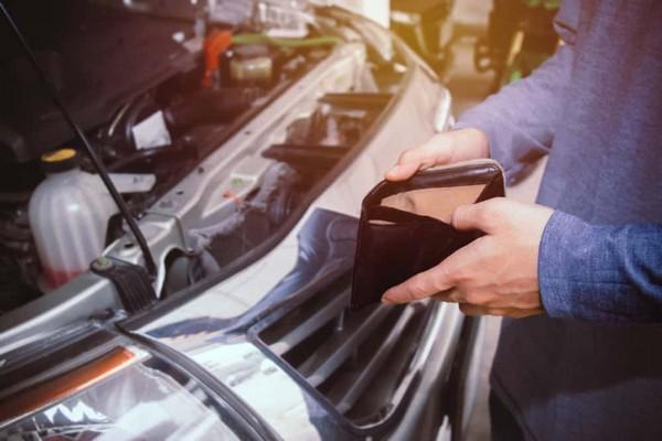 paying for car repair