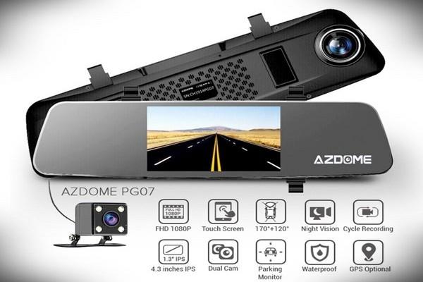 Azdome PG07 Dual Lens Dashcam