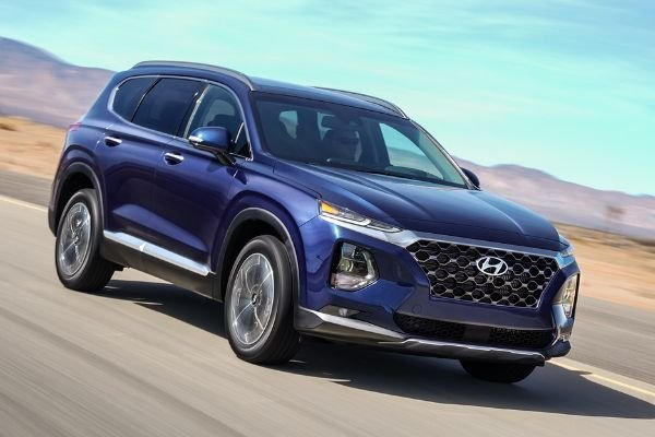 Hyundai Santa Fe angular front