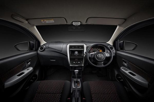 The Toyota Wigo interior