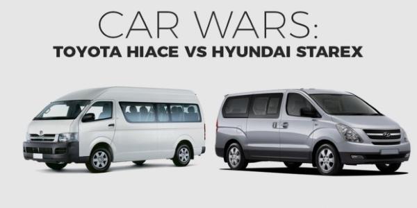 Hiace vs Starex Philippines