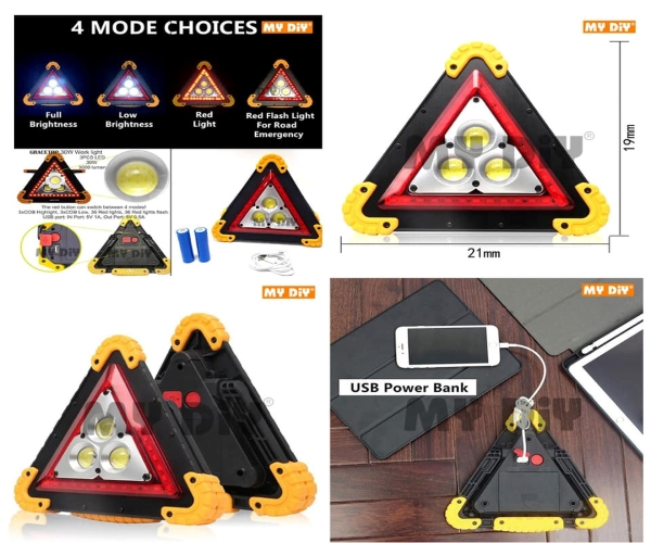 Multi-Function Work Light Car Early Warning Device Triangle Sign price