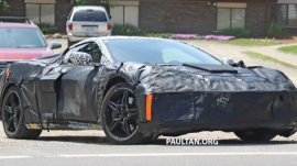 Chevrolet Corvette 2019/2020 spied while being tested