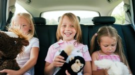 How to have good experience of driving long distance with children