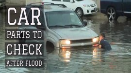 4 Car Parts to Check After Flood