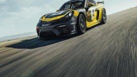 Track Version of the Porsche 718 Cayman GT4