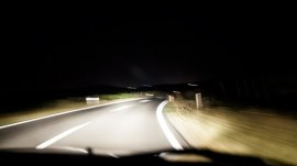 Don't be scare of darkness cause there are high beam headlights!