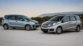 Suzuki Ertiga Vs Honda Mobilio: Which MPV To Drive Home?