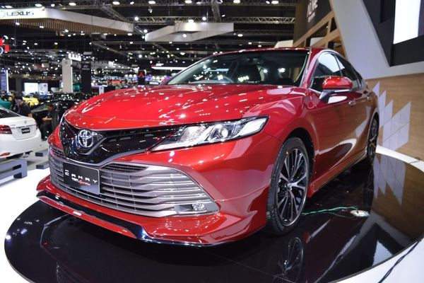 Toyota Camry 2019: All-Suited Up
